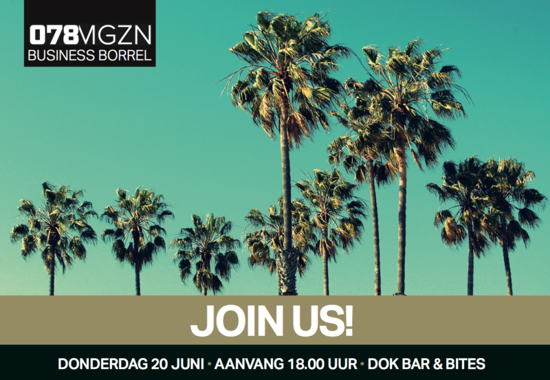 uitnodiging 078MGZN business borrel 2019